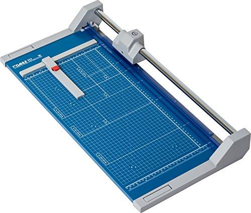 Dahle 552 Roll- und Schnitt-Schneidemaschine (Papierschneidemaschine mit einer Schnittlänge von 510 mm, bis zu DIN A3)