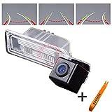 170° Weitwinkel HD Track Rückfahrkamera Auto Rückansicht Unterstützung mit Waterproof Night Vision für Golf 6 VI/Magotan / Bora/Jetta / CC/Polo