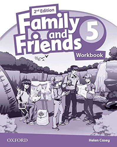 Family & Friends 5: Activity Book 2ª Edición (Family & Friends Second Edition) - 9780194811552