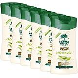 L'arbre vert Bien-être Crème Douche Aloe aux Extraits d'Aloé Vera Bio - Pack de 6