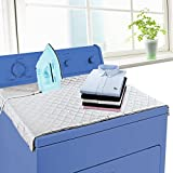 Portátil acolchada resistente al calor alfombrilla para planchado para tabla de planchar doble fuerza magnética de lavandería lavadora Pad manta de planchado