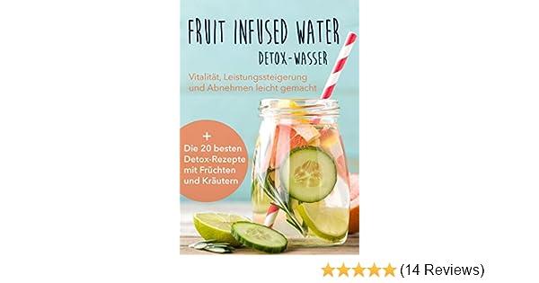 Fruit Infused Water Detox Wasser Vitalitat Leistungssteigerung