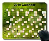2019 Kalender-Mauspad groß, Kalender USA Gaming-Mauspads, Kalenderplaner 2019 mit Feiertagsdetails
