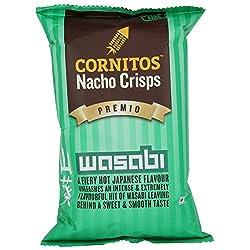 Cornitos Nachos Crisps, Wasabi, 150g