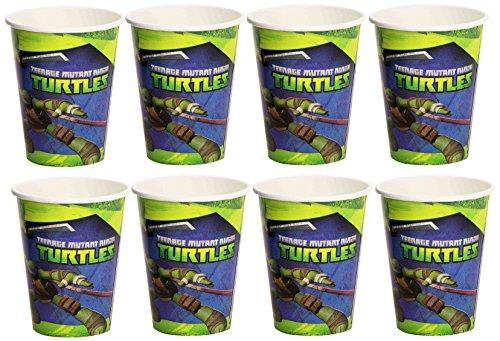 Amscan Teenage Mutant Ninja Turtles Gobelet en Carton, 552466