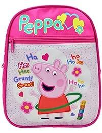 OMS Representacoes LDA Peppa Mochila Infantil, 10 cm, Rosa