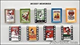 MICKEY MOUSE MEMORIES - BD666 - 9 Sujets Porcelaine pour Epiphanie - Galette des rois