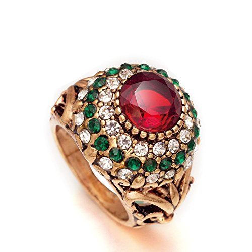 STRIPES Presents EID Special Finger Ring For Girl / Women Golden Colour...