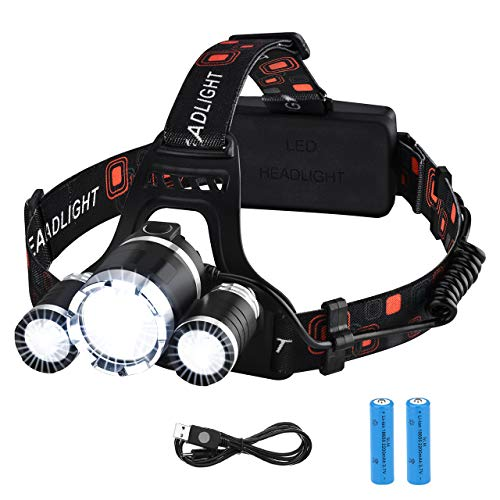 VICTSING LED Linterna Frontal