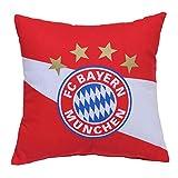 FC Bayern München Kissen, rot/weiß