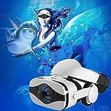 Bevifi - Auriculares 3D de realidad virtual con auriculares integrados en 3D, para iPhone 8 7 Plus, Samsung Galaxy Note 8 S8 S7 S6 Edge y otros teléfonos móviles de 4,7 – 6,35 cm