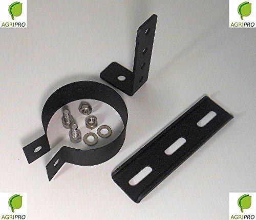 Bügel für Rohr Auspuff Rauch Durchmesser 80Für Pelletofen Halsband Rohrschelle (Pelletofen Auspuff)