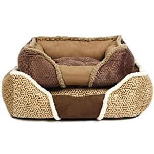 Bunty-Kensington-Dog-Bed-Soft-Washable-Fleece-Fur-Cushion-Warm-Luxury-Pet-Basket