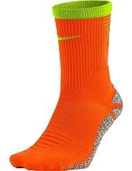 Nike U Ng Strk Ltwt Crew Calcetines, Hombre, Naranja (Total Orange / Volt / Volt), 10