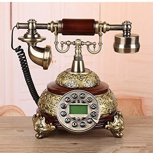 CQOZ Festnetztelefon Haushalts-Plug-In-Telefon, Dekoration Ornamente, Wohnzimmer Festnetz
