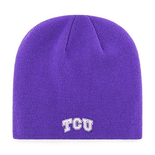 NCAA OTS Beanie Knit Cap, Unisex - Erwachsene, NCAA OTS Beanie Knit Cap, violett, Einheitsgröße -