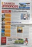 NOUVELLE REPUBLIQUE SAMAEDI ANNONCES (LA) [No 20016] du 28/08/2010 - UNE PLACE PREPONDERANTE - L'AIDE-SOIGNANTE - RELOOKER POUR VENDRE / IMMOBILIER - VENTES AUX ENCHERES - AUTO - MOTO - RENCONTRES - ANIMUX - EMPLOI - FORMATION - ARTISANAT...