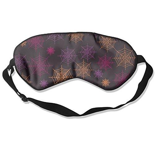 gen Masken Halloween Spider Bahnen Muster Schlafmaske für Reisen, Night Noon Nap, Vermittlung oder Yoga ()