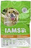 Iams Dog Adult Weight Control, fettarmes Trockenfutter mit Huhn für Erwachsene Hunde zur Gewichtskontrolle, Beutel, 4er Pack (4 x 1 kg)