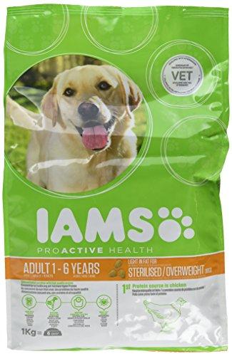 IAMS Dog Adult Weight Control fettarmes trockenfutter (con Pollo, para Adultos Perros...