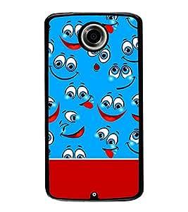 PrintVisa Designer Back Case Cover for Motorola Nexus 6 :: Motorola Nexus X :: Motorola Moto X Pro :: Google Nexus 6 (black feeling heart purelove missyou)
