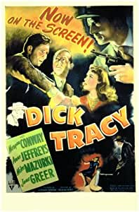 Dick Tracy Detective Movie Poster (27,94 x 43,18 cm)