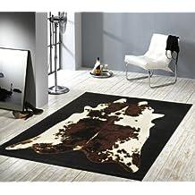 101579 Alfombra de diseño de imitación de piel de vaca, 160 x 230 cm