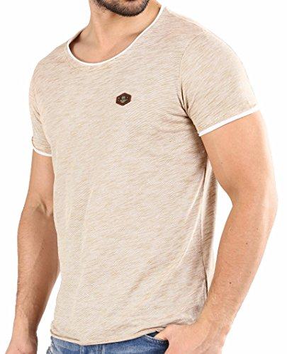 Redbridge by cipo & baxx - r-4t1223 maglietta da uomo m1186 (camel) xl