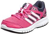 adidas Performance Duramo 6 M18647, Unisex - Kinder Laufschuhe, Pink (Solar Pink/Core White/Bold Onix), 36 2/3 EU (4 Kinder UK)