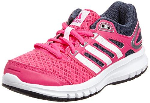 adidas Performance Duramo 6 M18647, Unisex - Kinder Laufschuhe, Pink (Solar Pink/Core White/Bold Onix), 39 1/3 EU (6 Kinder UK)
