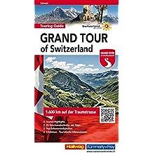 Grand Tour of Switzerland Touring Guide (Hallwag Führer und Atlanten)