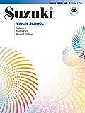 Suzuki Violin School, Vol 8: Violin Part, Book & CD