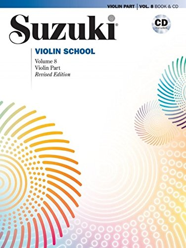 Suzuki Violin School, Vol 8: Violin Part, Book & CD