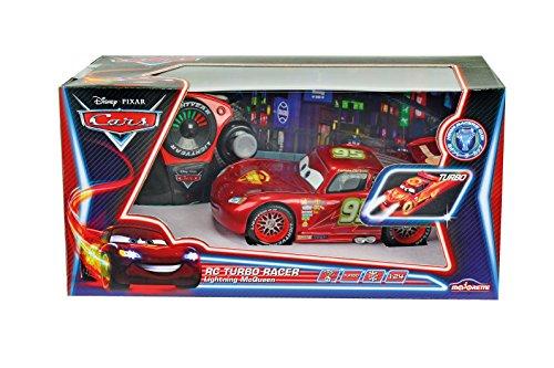 cars-coche-con-radio-control-rayo-mcqueen-neon-escala-143-color-negro-y-rojo-mattel-3089569