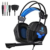 Yanni Sades SA921 Game Headphones with Mic Gaming Headset for PS4 New Xbox