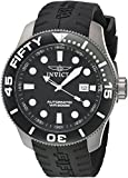 Invicta 'ti-22' automatico titanio e silicone casual Watch, colore: Nero (Model: 20519)