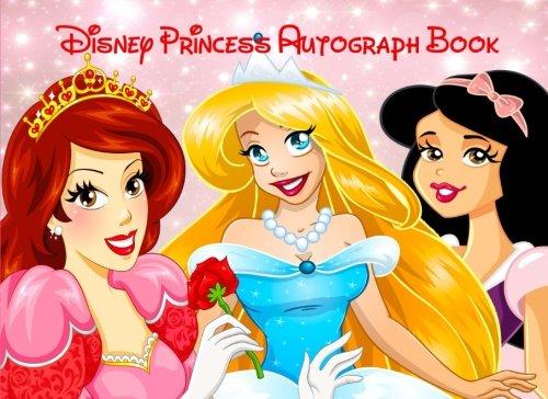 Disney Princess Autograph Book: Disney Autograph Book for Kids with Ariel, Cinderella and Snow White por Kensington Press