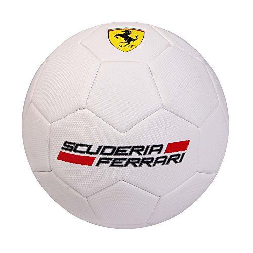 Fußball Original Scuderia Ferrari Weiß Gr. 3Offizielles Durchmesser 19cm