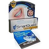 SmartGuard EliteGouttière antibruxisme et grincement de dents Conçu par des dentistes, anti grincement et serrement de dents. Soulage la douleur aux mâchoires et les maux de tête causés par le grincement des dents. Garantie 100%