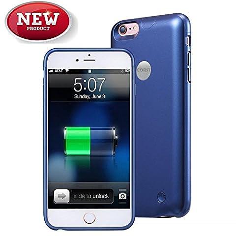 iPhone 6/6S battery Case, corst® Slim 2500mAh Batterie Etui Sauvegarde