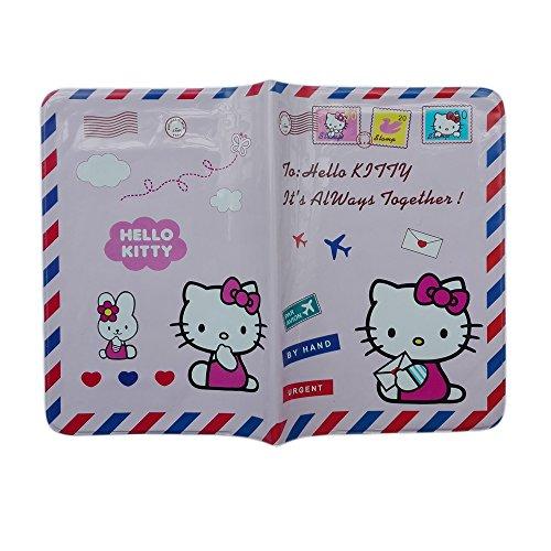 Étui pour passeport, Plastique, rose, Hello Kitty-pink