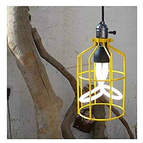 Vintage Eisen Arbeitskleidung Shop Tee-Shop und Cafe Lampen Kronleuchter engineering 160 * 270mm, Black