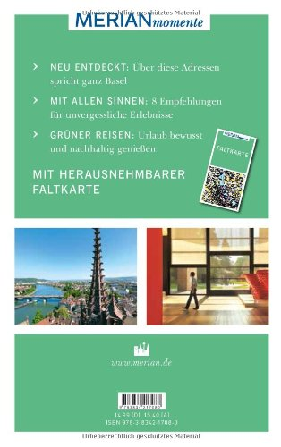 Basel: MERIAN momente - Mit Extra-Karte zum Herausnehmen