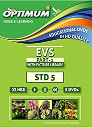 Optimum Educational DVDs HD Quality for Std 5 MH Bord -Evs-Part-1