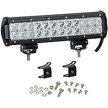 """1-Pack 12 """"72W LED de la barra ligera 7200lm Combo Vigas 24pcs 3W Cree fichas a prueba de agua para Jeep del camino caravana carro ATV SUV de tracción total 4WD 4x4 Pickup Van campo a través"""