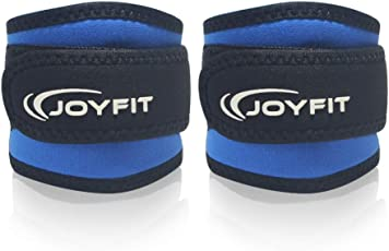 JoyFit - Ankle Straps with Pad and Ring for Cable Machine, Gym, Legs, Butt, Glute Exercises for Men and Women