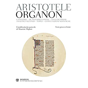 Organon. Testo Greco A Fronte
