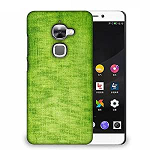 Snoogg Green Fabric Texture Designer Protective Phone Back Case Cover For Samsung Galaxy J1