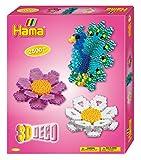 Hama 3238 - Geschenkpackung 3D Deko, ca. 2500 Bügelperlen, Stiftplatte und Motivstütze