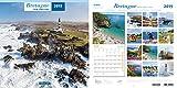 Calendario Pared Breton entre tierra y mar 2201930/30cm